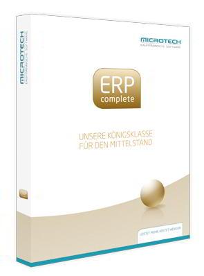 Organisationssoftware ERP für kaufmännische Prozesse