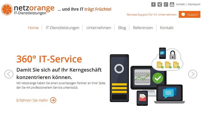 Startseite netzorange IT-Dienstleistungen aus Köln IT Systemhaus