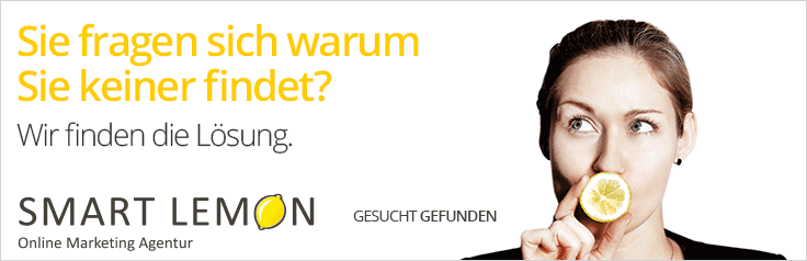 Smart Lemon Online Marketing Agentur ©Smart-Lemon.de