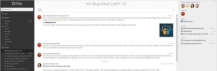 Glip - netzorange IT-Dienstleistungen