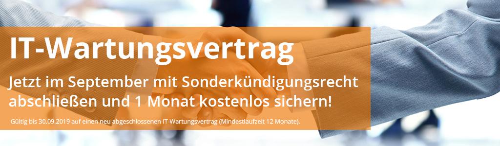 Aktion IT-Wartungsvertrag - netzorange IT-Dienstleistungen